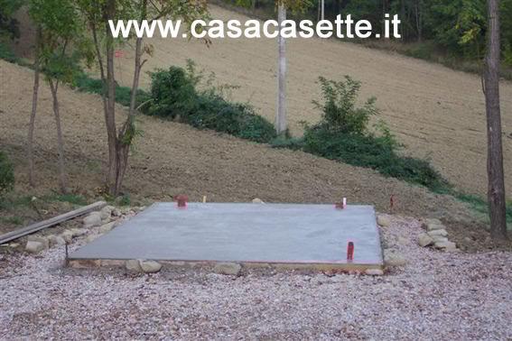 Realizzazione di una platea per casetta piccola o media for Stili di fondazione di case